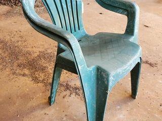 2  Plastic chairs