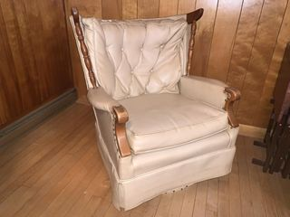 leather Swivel Rocking Chair