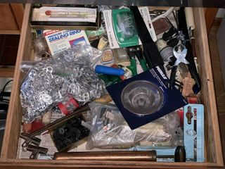 Contents of 1 Drawer  Misc  Items