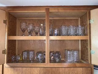 Glassware   2 Shelves