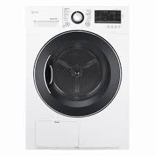 GE Washer 14 Cycle Compact Electric Dryer   White  Model DlEC888W