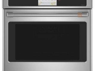 CafAc   30  Built In Single Electric Convection Wall Oven   Stainless steel
