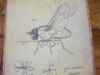Fishing Fly Patent 1968