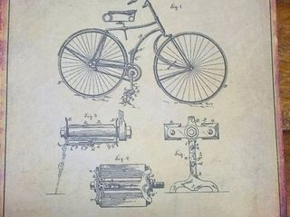 Bicycle Patent 1891