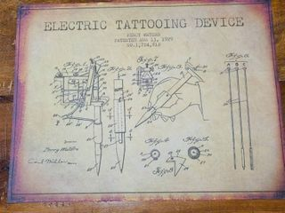 Electric Tattooing Device Patent 1929
