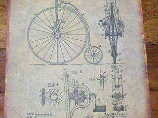Bicycle Patent 1887