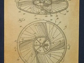 Flying Saucer Structure Patent 1966