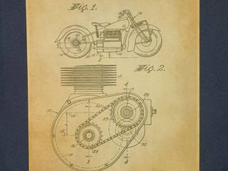 Shaft Drive For Motorcycles Patent 1941