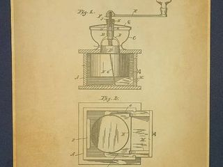 Coffee Mill Patent 1891