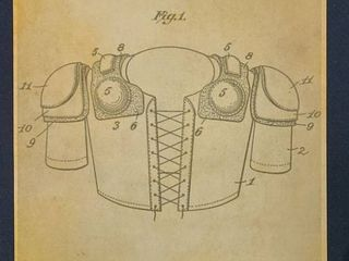 Foot Ball Protective Apparel Patent 1914