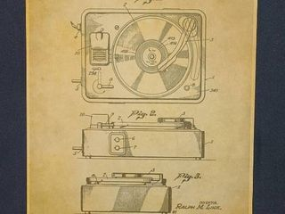 Combination Sound and Picture Mechanism Patent 1950