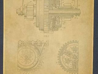 Gearing Patent 1912