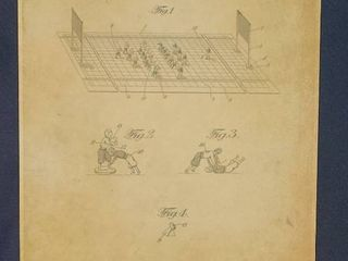 Football Game Patent 1926