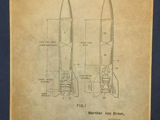 Rocket Propelled Missile Patent 1961