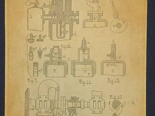 Internal Combustion Engine Patent 1898
