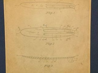 Surfboard Patent 1967