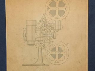 Motion Picture Projector for Sound Motion Pictures Patent 1936