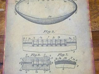 Game Ball Patent 1938