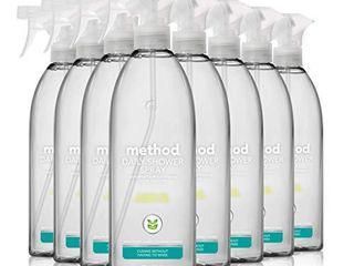 Method Daily Shower Cleaner  Eucalyptus Mint  28 Ounce  Pack 8