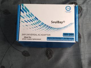 SoulBay 24w Universal AC Adapter