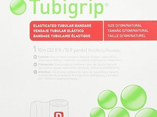 Tubigrip Tubular Bandage Size D  10M Box  2 Pack