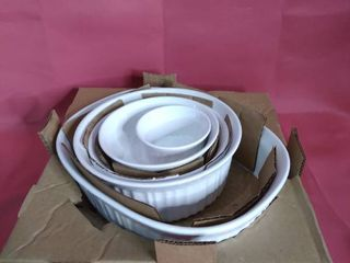 CORNING WARE SET MISSING ONE SMAll BOWl
