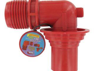 Valterra F02 3103 Red Bulk Universal EZ Coupler Sewer Adapter