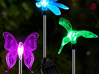 OxylED Solar Garden lights