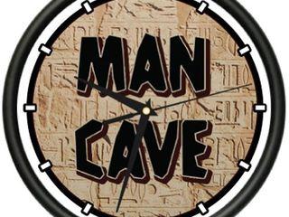 Man CAVE Clock I Sports Man cave Sign Garage Wall Gift