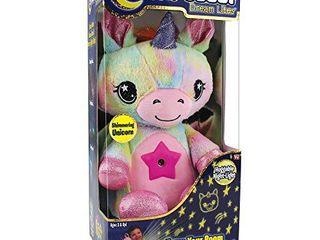 Ontel Star Belly Dream lites  Stuffed Animal Night light  Shimmering Rainbow Unicorn