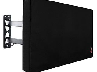 Outdoor TV Cover 50 to 55 inches  Bottom Seal  Waterproof and Weatherproof  Fits Up to 52W x 31H inches
