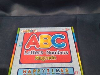 ABC lETTERS AND NUMBER MAGNETS