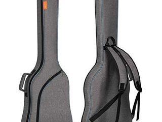 CAHAYA Electric Bass Guitar Bag Gig Bag Backpack Padded Soft Case 0 3inch Padding  Grey