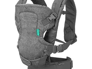 Infantino Flip Advanced 4 in 1 Carrier   Ergonomic  convertible  face in and face out front and back carry for newborns and older babies 8 32 lbs