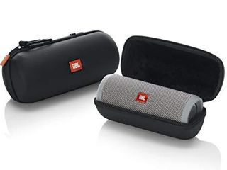 JBl lifestyle Carry Case for Flip 4 Bluetooth Portable Speaker  Rugged EVA Shell with Weather Resistant Zippered Seal and Carabiner Style Clip  JBl FlIP4 CASE