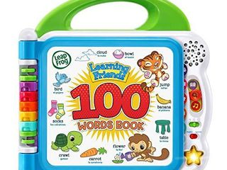 leapFrog learning Friends 100 Words Book Green