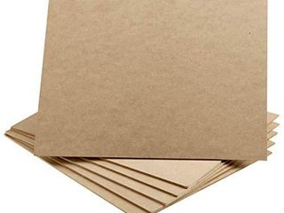 Artlicious   9x12 Hardboard 6 Pack   Great Alternative to Canvas Panel Boards
