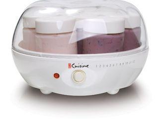 Euro Cuisine YM80 Yogurt Maker White