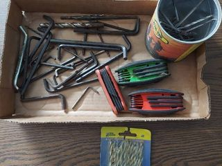 Hex Heys and Drill Bits