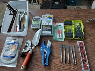 Assorted Tools and Hardware