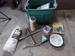 Catch All lot   4 Way  Rope light and Zip Ties