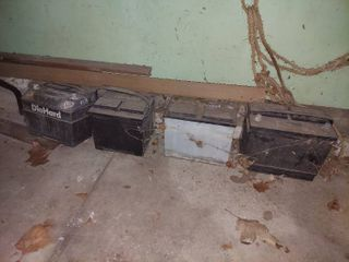 Old Car Batteries