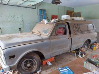 Chevy Parts Pickup   No Paperwork