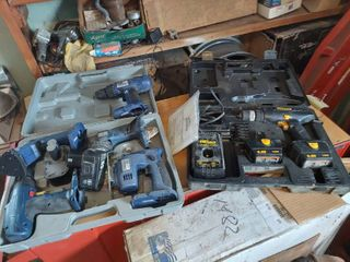 Assorted Cordless Tools