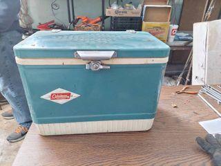Vintage Coleman Steelcase Cooler