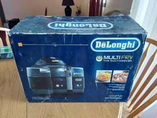 De longhi MultiFry  air fryer and Multi Cooker  Black