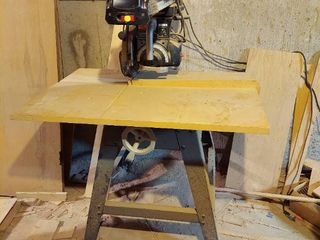 Craftsman Professional 10  Radial Arm Saw   In Basement