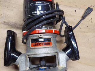 Craftsman 1 Hp Router