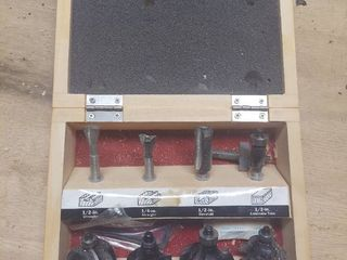 Craftsman 8Pc Router Bit Set