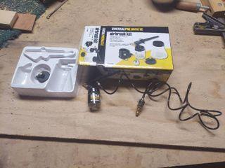 Central Pneumatic Airbrush Kit